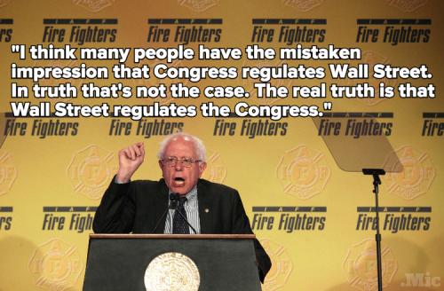 Bernie Sanders Wall Street
