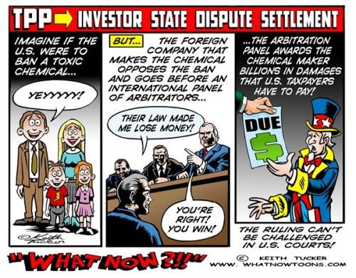 TPP secret tribunal
