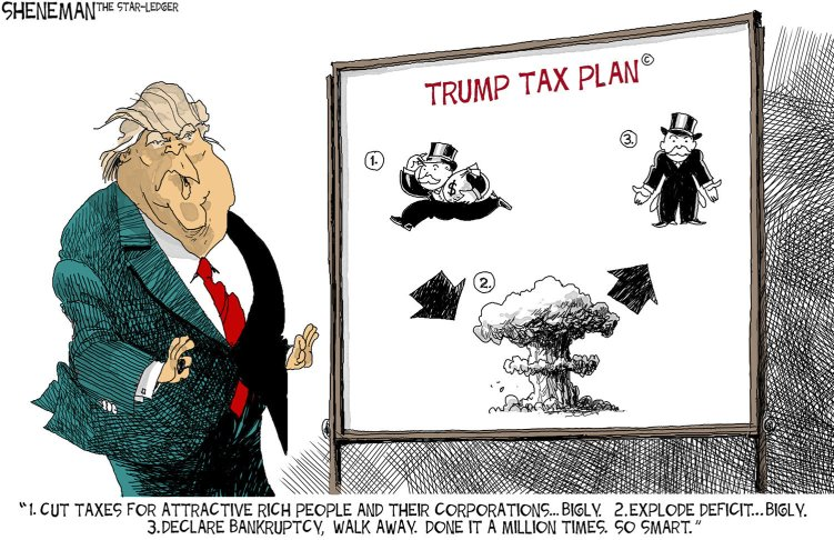 Image result for tax cut for the rich